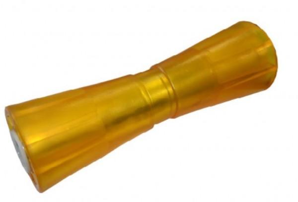Sliprolle Bootsauflage Kielrolle Bugrolle Polyvinyl L.259 mm Farbe gelb L1064005
