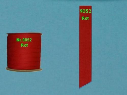 Einfaßband Volant Markisenstoff Markisen Neu Rot L9052