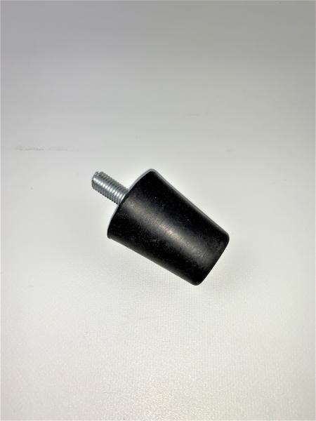 Gummipuffer Anschlagpuffer Dämpfer Puffer Farbe Schwarz M10 Gewinde Gr.1 L1281