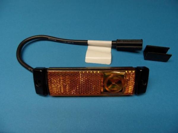 LED 24 Volt Begrenzungsleuchte Gelb von Hella für Anhänger Wohnwagen Neu L1677