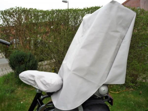 Regenschutz Regenabdeckung für Kinderfahrradsitz + Sattelabdeckung SET 190200