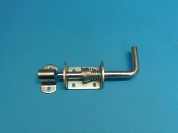 Federriegel Federverschluss mit Gegenhalter 12 mm Riegel Galv.verzinkt Neu L2517