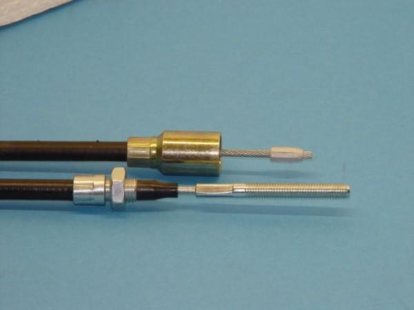 Bowdenzug Original Knott mit Glocke Schlegel Nieper BPW H1530 mm S 1740 mm L9074