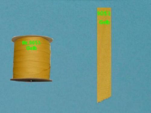 Einfaßband Volant Markisenstoff Markisen Neu Gelb L9053