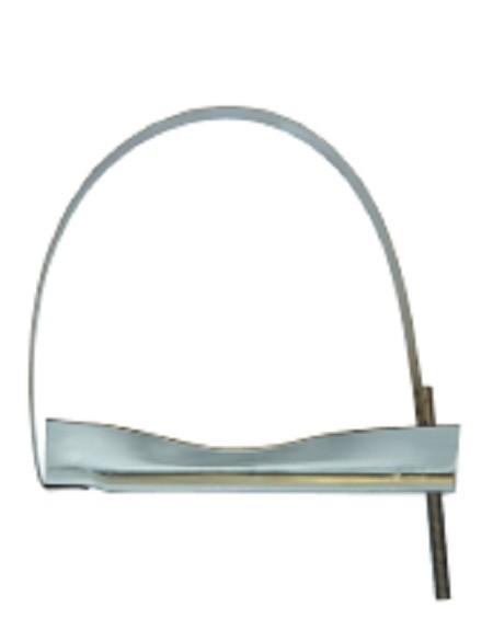Spannband Stahl verz Ø276 Druckluftkessel Druckluftbehälter Drucklufttank L49012