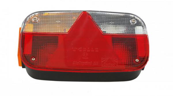 Aspöck Multipoint 3 Rückleuchten Leuchte Anhänger Trailer LINKS Bü10651