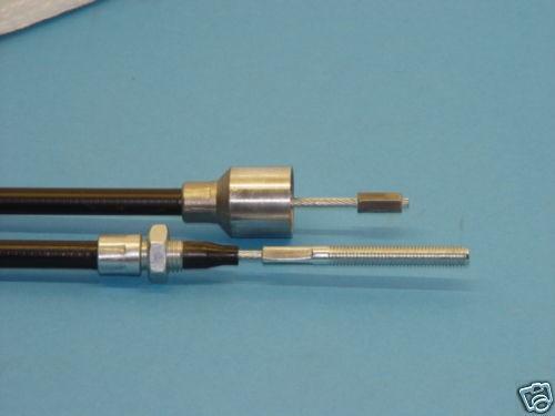 Nippel HL890 mm SL1086 mm L8532 Alko Bowdenzug Bremsseil mit Glocke 26 mm und T