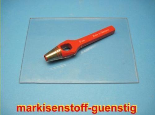 Locheisen Unterlage & 8 mm Henkellocheisen Stanze L8099