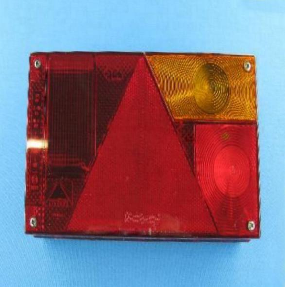 Aspöck Multipoint 1 Rückleuchte Ersatzglas rechts L0096