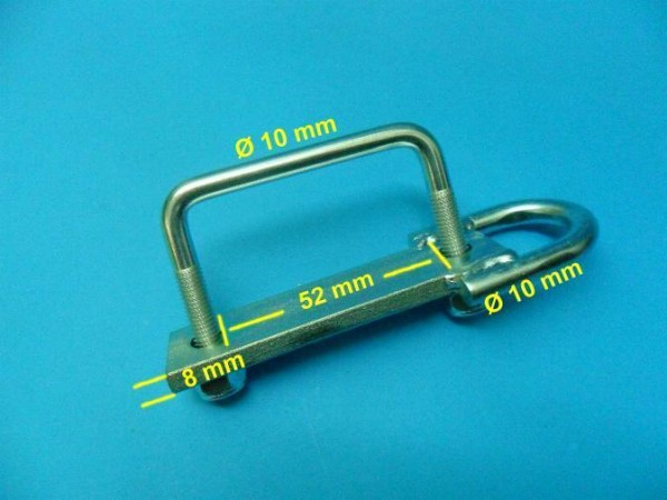 Ladungssicherung Zurröse Zurrmulde Zurrpunkt LW 52 mm o. Bügelschraube Neu L4802