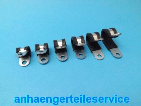 Norma Rohrschelle Befestigungsschelle für Ø 15mm Rohr Metall Kunstoff Neu L43266